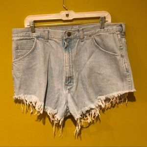 Vintage Wrangler Distressed Shorts